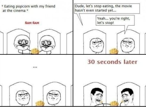Always Like This At The Cinema…