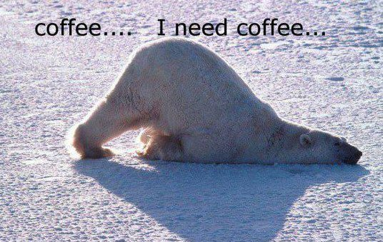 I Need Coffee…