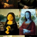 Different Shapes of Mona Lisa