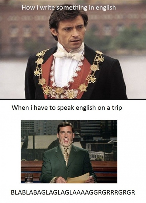 Speaking English on a Trip