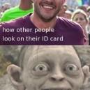 How I Look On My ID-card