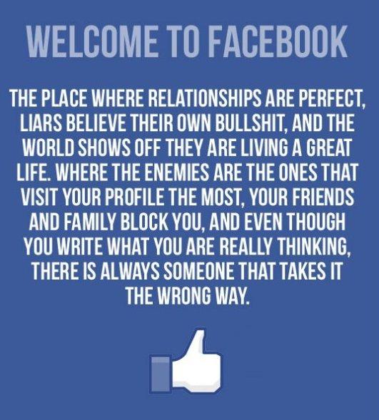 Welcome To Facebook – MEME