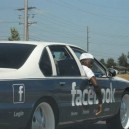 The Facebook Car!