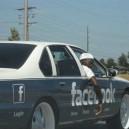 The Facebook Car!