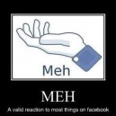A Valid Reaction To Most Things On Facebook