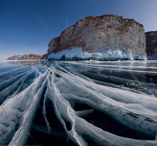 Beautiful Frozen Lake