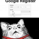 Register on Google