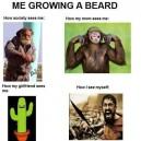 Me Growing a Beard