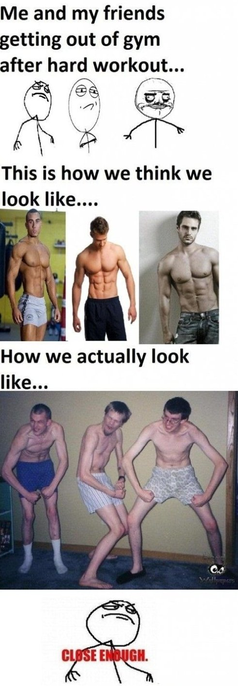 How We Actually Look After The Gym