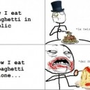 How I Eat Spagetti
