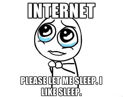 Please, Internet…