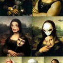 Different Versions of Mona Lisa