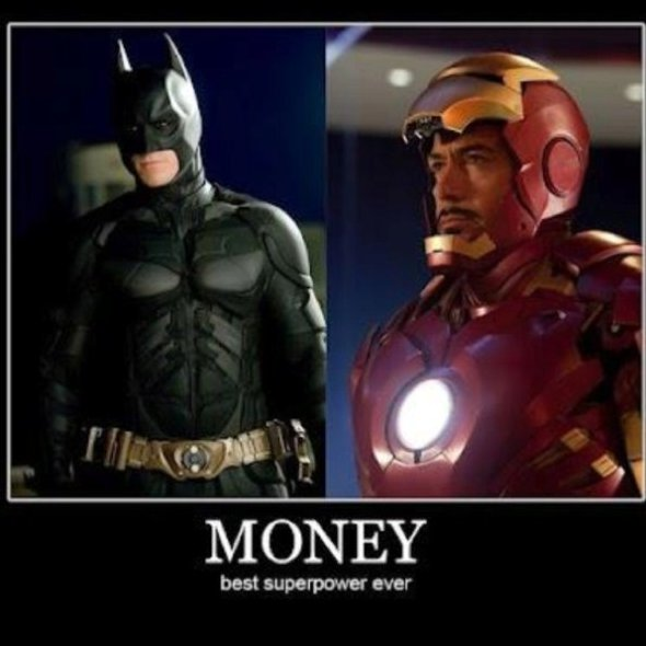 Money – Best Superpower Ever