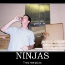 Ninjas Love Pizza!