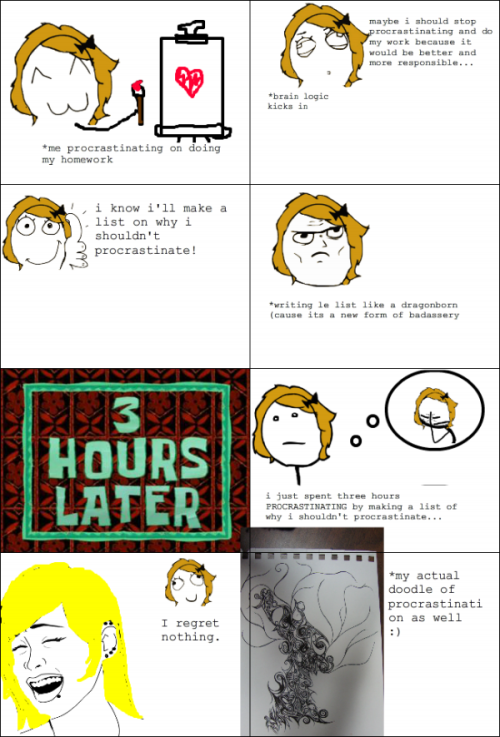 Procrastination at its Best