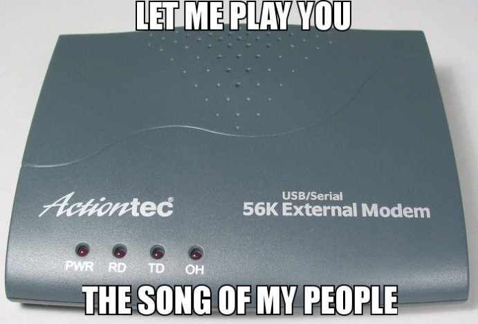 Remember The Modem Sound?