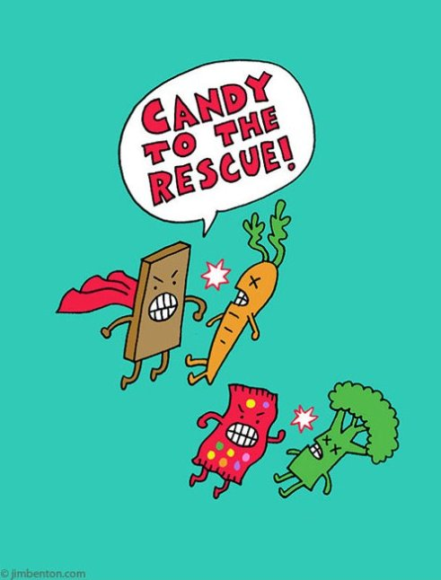 Candy To The Rescue!