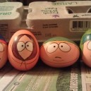 South Park Egg Art