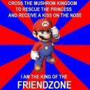 Super Mario Friendzoned