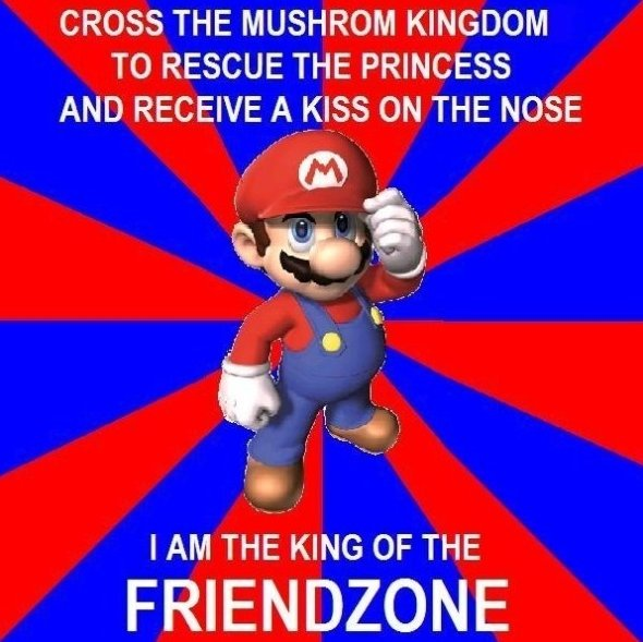 Super Mario Friendzoned