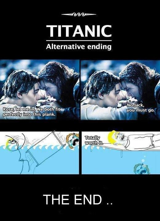 Titanic – Alternative Ending