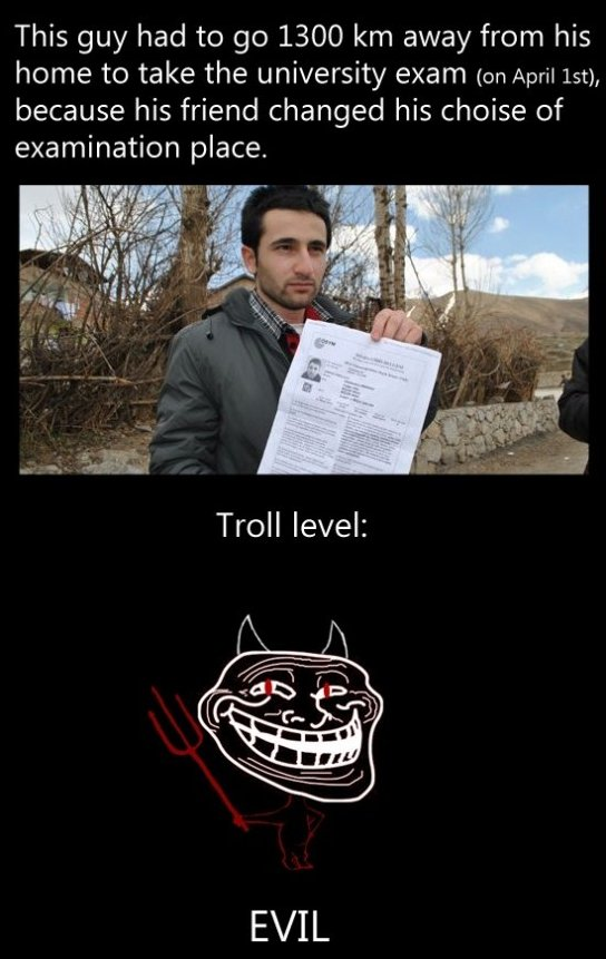 Troll Level: Evil