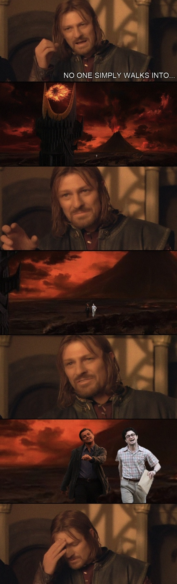 No One Simply Walks Into Mordor…