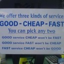Three Kinds of Service