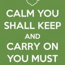 Yoda – Calm You Shall Keep