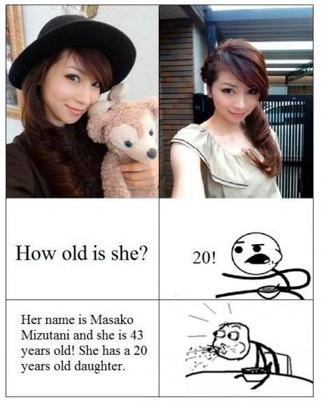 Masako Mizutani – How Old Did You Say?