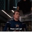Suit Up! – The Avengers
