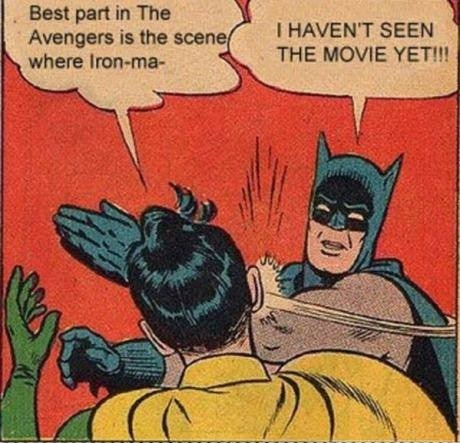 Batman Haven't Seen The Avengers