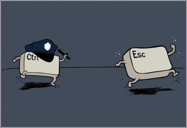 Ctrl Esc