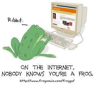 Frog On The Internet