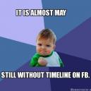 Still Without Facebook Timeline