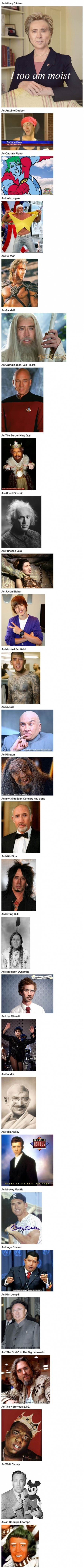 Nicolas Cage Can Be Anything