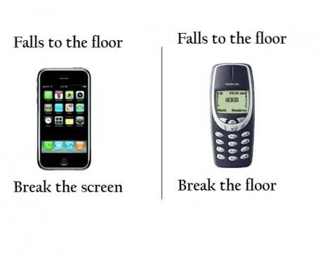 Nokia and iPhone