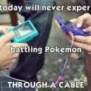 Battling Pokemon Through a Cable