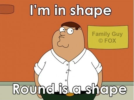 Peter Griffin In Shape