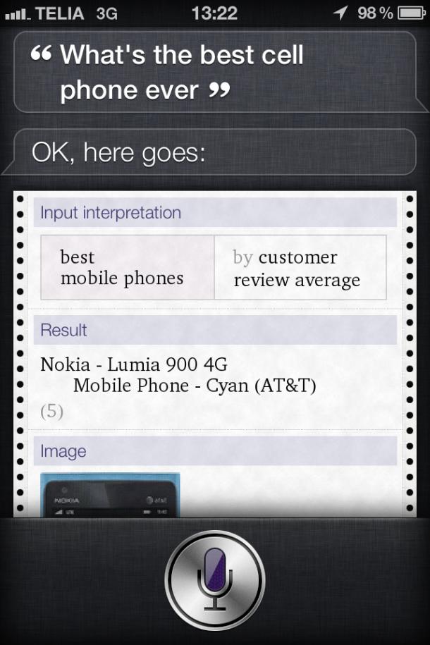 If You Say So Siri…
