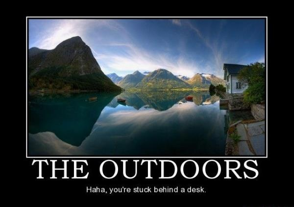 Welcome To The Outdoors