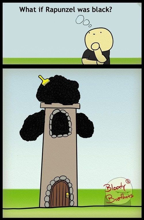 If Rapunzel Was Black