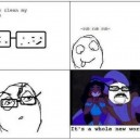 Cleaning My Glasses
