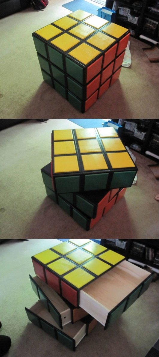 Awesome Rubiks Cube Dresser