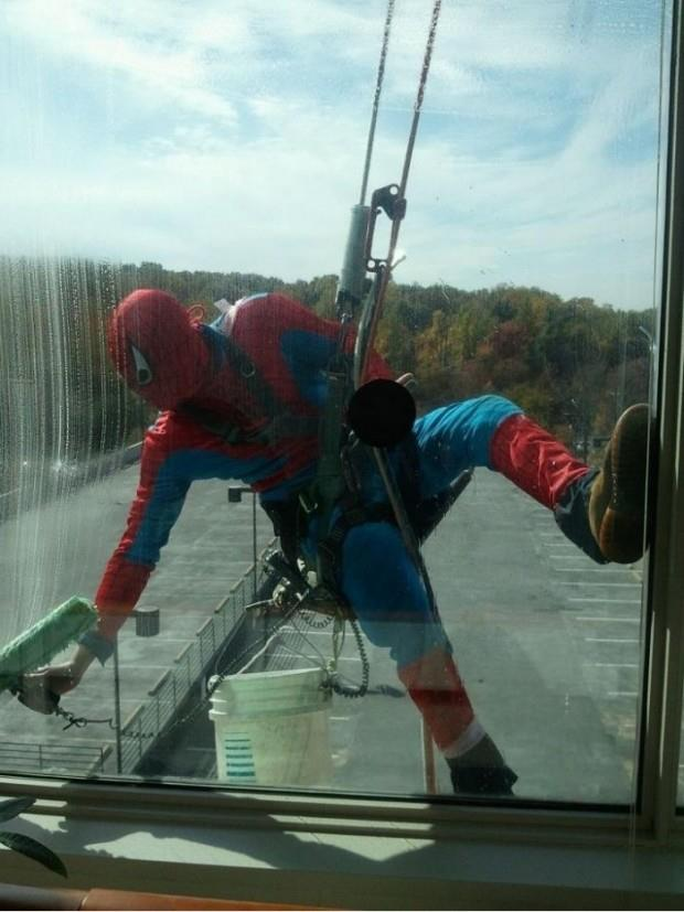 Best window cleaner outfit ever