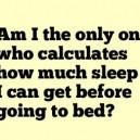 I Always Do This…