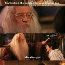 Condescending Dumbledore
