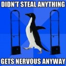 Nervous Penguin