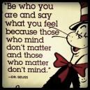 Dr. Seuss – Words of Wisdom