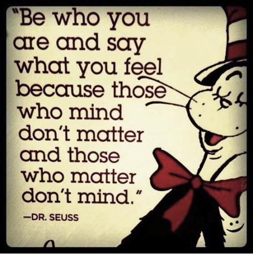 Dr. Seuss – Words of Wisdom